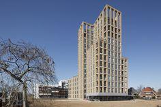 Rosa Toren | Appartementencomplex - K-vision kozijnen - Profine