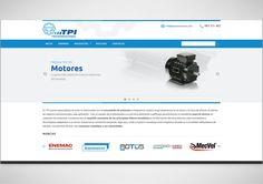 Diseño página web para TPI Transmisiones
