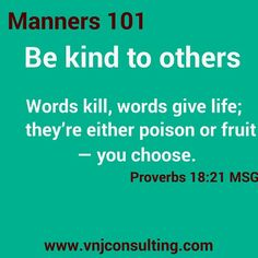 Your children will learn basic Manners.