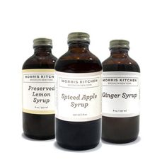 Morris Kitchen: Cocktail Syrup Variety 3 Pack, at 10% off!