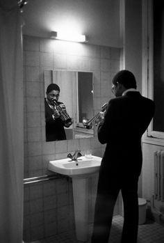 Wynton Marsalis at the 4th Paris Jazz Festival. 1983.