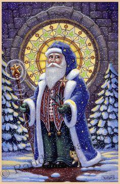 Santa by Randal Spangler