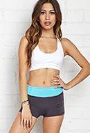 Side Pocket Skinny Workout Shorts