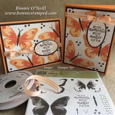 Every year by mid April, Stampin' Up! releases the retiring products from the Annual and Occasions Catalogs. It is often bittersweet. For example, I have not touched the stamp set featured in today's post. Heading to retirement, Watercolor Wings deserves a second look!