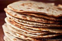 Quinoa Tortillas, 4 c quinoa flour, 3/4 c rice flour, 1 t.salt, 1 t olive oil, 1 1/4c water, Mix, knead, 18 pieces, flatten, cook on each side in non-stick skillet