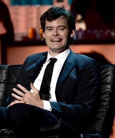 His smile is infectious. | 16 Reasons Bill Hader Is The Coolest Celebrity Ever