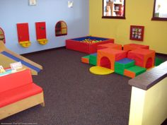 toddler open play | The toddler area inside The Monkey's Treehouse in Bellevue, TN. photo ...