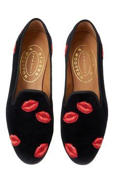 Bisous Slipper by STUBBS & WOOTTON for Preorder on Moda Operandi
