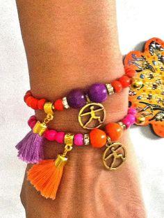 SALE YOGA BRACELETS  Chakra Bracelets-Meditation by Nezihe1