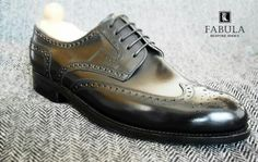 Fabula Bespoke Shoes. Unique handmade, bespoke men's shoes. Modell: Budapest modell