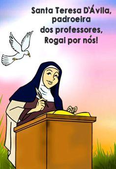 Dia 15 de outubro - Dia de Santa Teresa de Ávila