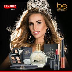 Linha de Cosméticos Be emotion Miss Brasil disponíveis no site: www.polishop.com.vc/dmlorenco
