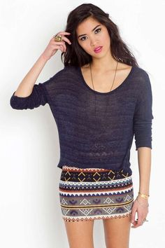 Aspen Knit Skirt | Shop Clothes at Nasty Gal