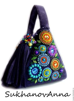 Handmade Fabric Bags, Handmade Handbags, Leather Bags Handmade, Potli Bags, Leather Notebook, Leather Journal, Floral Bags, Diy Handbag, Art Bag