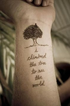 quotes tattoos for life