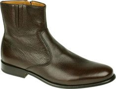 Florsheim - Hugo (Mens) - Brown Soft Milled Leather - Florsheim,Boots,Casual,Dress,Shoes