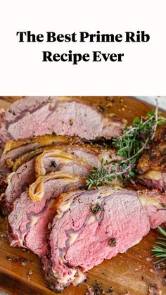 Beef Prime Rib Recipe, Best Prime Rib Recipe Ever, Slow Roasted Prime Rib, Smoked Prime Rib Roast, Prime Rib Of Beef, Rib Roast Recipe, Smoked Ribs, Garlic Recipes, Rib Recipes