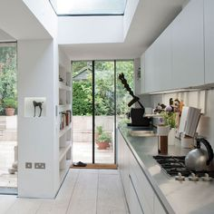 skylights wall of glass