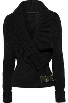 Gucci | Wrap-effect wool sweater | NET-A-PORTER.COM - StyleSays
