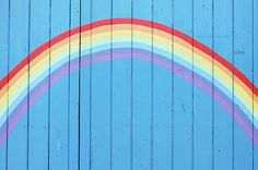 Painted Rainbow On Wooden Fence by Richard Newstead Queen Chrysalis, Rain Photography, Rainbow Connection, Rainbow Aesthetic, Rainbow Painting, Aesthetic Painting, Wooden Fence, Twilight Sparkle, Blue Walls