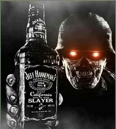enjoy your last day of the weekend! Whiskey Girl, Cigars And Whiskey, Scotch Whiskey, Irish Whiskey, Heavy Metal Art, Heavy Metal Bands, Jack Daniels Cocktails, Iron Maiden Posters, Zombie Army
