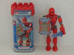 Lego Knights Kingdom Set #8785 Santis w/ Knights Kingdom challenge card game #LEGO