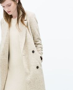 Image 3 of TOMBOY COAT from Zara