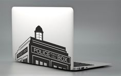 """Dr Who Tardis Police Box - Apple Macbook Laptop Decal Sticker Vinyl Mac Pro Air Retina 11"""" 13"""" 15"""" 17"""" Inch Skin Cover Doctor Who MAC-002 by 2GETHERSTORE on Etsy https://www.etsy.com/listing/230878312/dr-who-tardis-police-box-apple-macbook"""