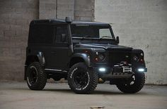 LAND ROVER DEFENDER 90 Td5 Full rebuild - custom built to order - NIGHTHAWK SPEC