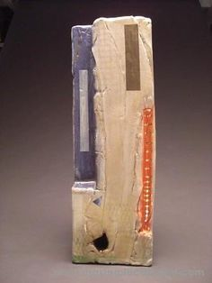 Doug Kenney    Ceramic     12112   H 33in x W 11in x D 5.5in