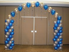 Image result for Balloon Columns and Arches