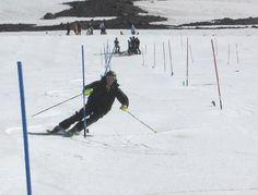 Plymouth Ski Race #ski #snow