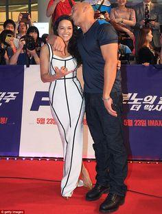 Michelle Rodriguez & Vin Diesel