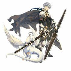 Knight and Familiar Art Manga, Anime Manga, Anime Guys, Anime Art, Character Creation, Game Character, Character Concept, Concept Art, Anime Warrior