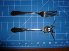 How to bend fork tines from Instructables