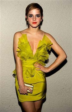 Have I mentioned my favorite color: chartreuse   Emma Watson