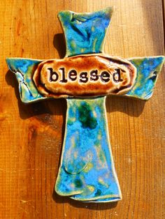 Blessed Cross by RTC Pottery