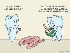 1st Impression #Humor #Dental