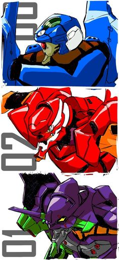 Evangelion ~~ Mecha mania for Millions!