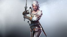 A drengmaer if she had an animal skin? The Witcher 3 Wild Hunt,warrior, fight, sword, CD Projekt RED