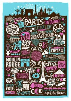 paris, illustrated