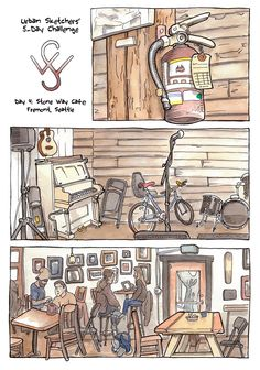 Urban Sketchers Seattle: Five-Day Challenge
