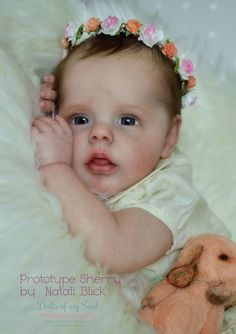 Sherry by Natali Blick - Online Store - City of Reborn Angels Supplier of Reborn Doll Kits and Supplies
