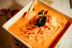 Red Curry at Kuhn Pic's Banh Thai