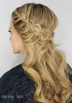 Half up Hair | 17 Half Up Wedding Hairstyles