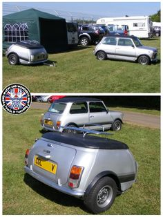 Mornin Miniacs You all know I have a soft spot for the 1100 Special so when this matching Towin Tuesday combo landed in the WWWMini Inbox, oh my days! I'm in love! What a FRICKIN AWESOME set up! I proper proper love it! Have a great day folks