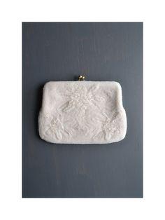 vintage bead purse   satin bridal clutch by BreanneFaouzi on Etsy 6decfe1f88db0