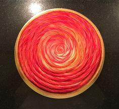 Recette de mon  interprétation de la tarte aux pommes façon Cédric Grolet