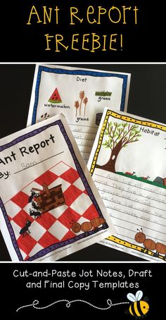 Insect Writing Activities For Beginning Writers Report Writing Skills, Teaching Writing, Writing Activities, September Activities, Spring Activities, Inquiry Based Learning, Student Learning, Informational Writing, Informative Writing