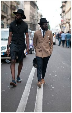 Shaka & Sam, Milan fashion week, 2011 ACF one. Mode Masculine, Sharp Dressed Man, Well Dressed Men, Stylish Men, Men Casual, Gentleman Style, My Guy, Dandy, Mode Style